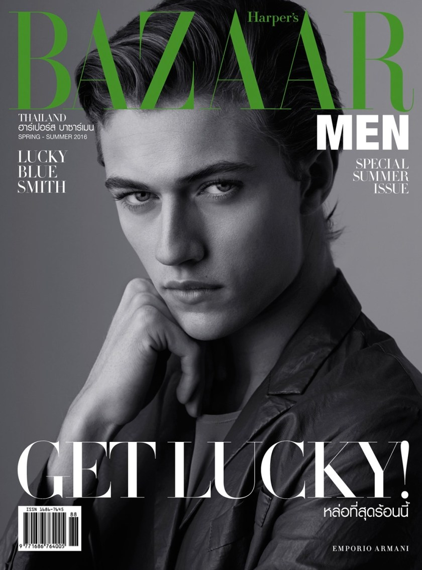 HARPER'S BAZAAR THAILAND MAN Lucky Blue Smith by Lukasz Pukowiec. Olga Yanul, Spring 2016, www.imageamplified.com, Image Amplified (9)