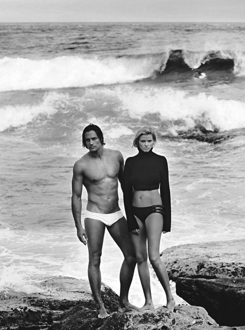 VOGUE AUSTRALIA Lara Stone & David Genat by Mario Testino. Sarajane Hoare, April 2016, www.imageamplified.com, Image Amplified (3)