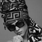CAMPAIGN: Benjamin Benedek & Malcolm Lindberg for Versace Scarves 2016 by Ben Weller