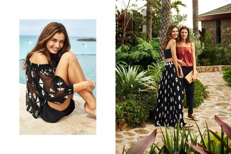 CAMPAIGN Cameron Russell & Andreea Diaconu for H&M Summer 2016. www.imageamplified.comm, Image Amplified (2)