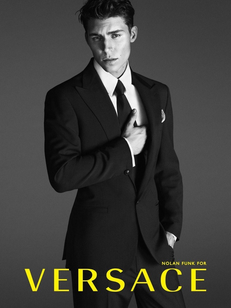 CAMPAIGN Nolan Gerard Funk for Versace Spring 2014 by Mert & Marcus. www.imageamplified.com,m Image Amplified (5)