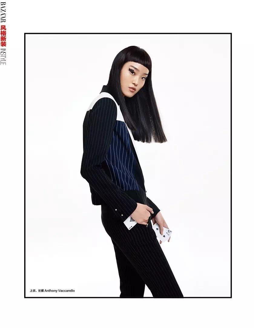 HARPER'S BAZAAR CHINA Yue Han by Zhang Chao. Renty Xin Wu, Spring 2016, www.imageamplified.com, Image Amplified (4)