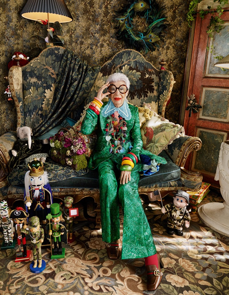 HOW TO SPEND IT Iris Apfel by Luis Monteiro. Spring 2016, www.imageamplified.com, Image Amplified (1)