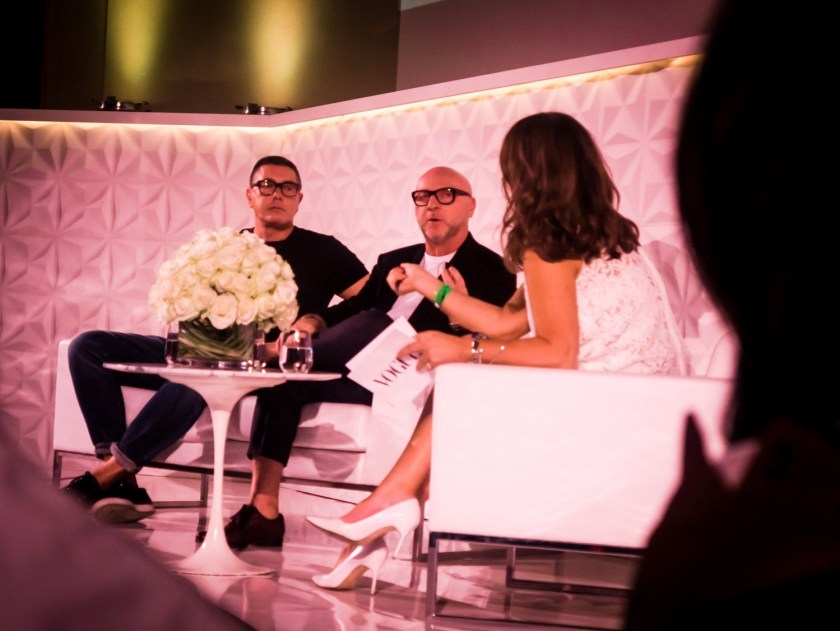 IA UPDATE Domenico Dolce & Stefano Gabbana, Dolce & Gabbana's Italian Journe with Alexandra Shulman at Vogue Festival 2016 by Troy Wise & Rick Guzman. www.imageamplified.com, Image Amplified (36)