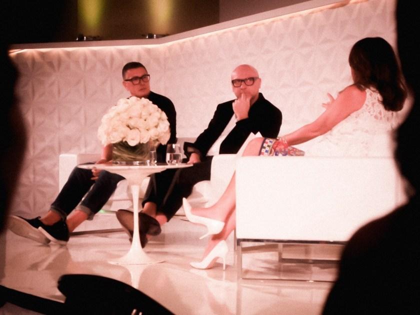 IA UPDATE Domenico Dolce & Stefano Gabbana, Dolce & Gabbana's Italian Journe with Alexandra Shulman at Vogue Festival 2016 by Troy Wise & Rick Guzman. www.imageamplified.com, Image Amplified (25)