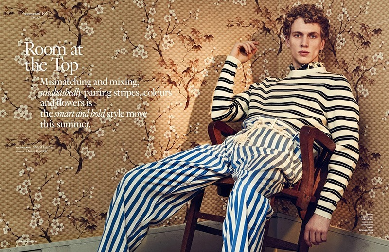 VOGUE HOMMES INTERNATIONAL Robbie G by Sharif Hamza. Darcy Backlar, Spring 2016, www.imageamplified.com, Image Amplified (1)