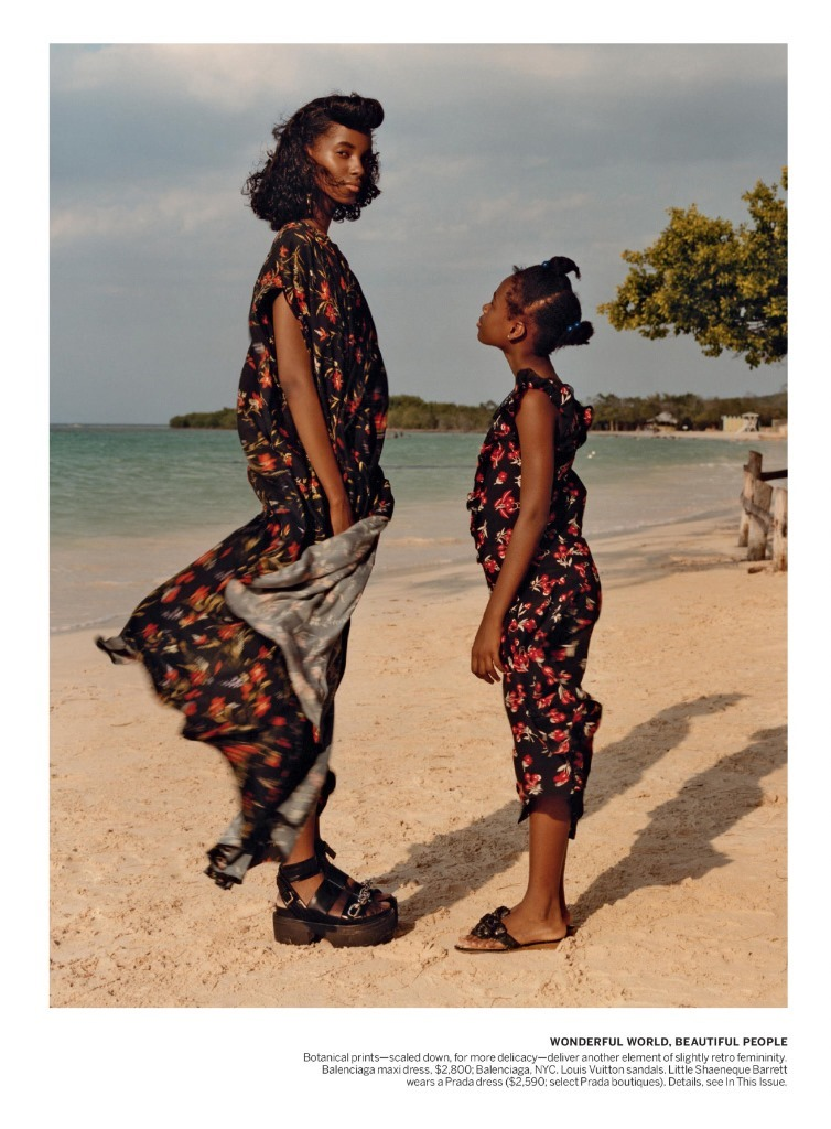 VOGUE MAGAZINE Tami Williams & Lineisy Montero by Jamie Hawkesworth. Grace Coddington, June 2016, www.imageamplified.com, Image Amplified (3)