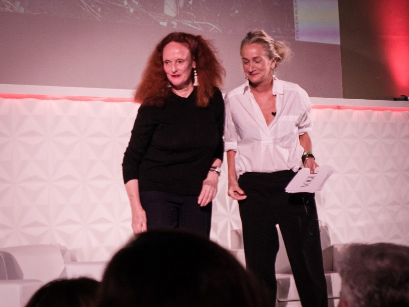 IA UPDATE Grace Coddington, A Life in Fashion with Lucinda Chambers at Vogue Festival 2016 by Troy Wise & Rick Guzman. www.imageamplified.com, Image Amplified