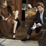 CAMPAIGN: Jordan Barrett for Ermanno Scervino Fall 2016 by Peter Lindbergh