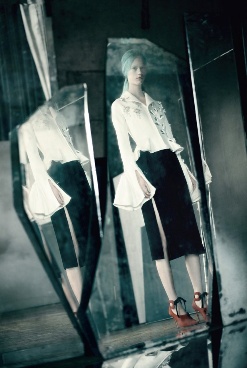 DIOR MAGAZINE Mirror, Mirror by Paolo Roversi. Jacob K, Summer 2016, www.imageamplified.com, Image Amplified (6)