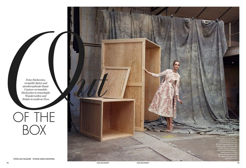 ELLE GERMANY Out Of The Box By Asa Tallgard. Spring 2016, Www.imageamplified