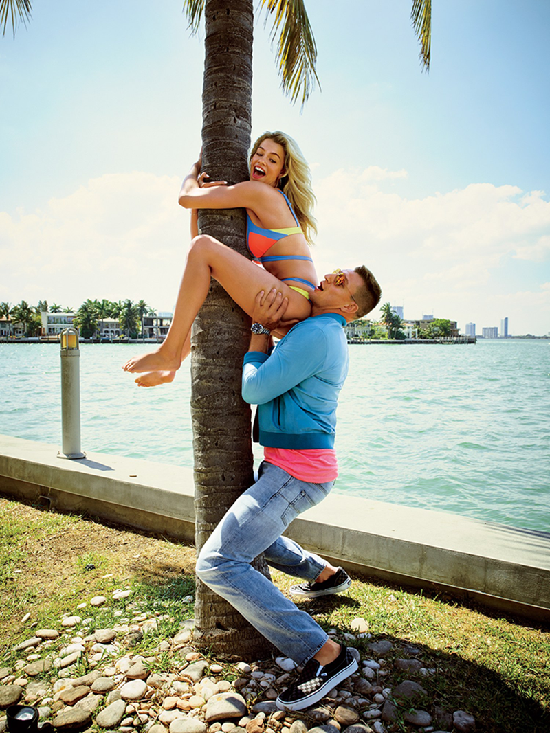 GQ MAGAZINE Rob Gronkowski & Hailey Clauson by Peggy Sirota. June 2016, www.imageamplified.com, Image Amplified (5)