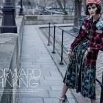 MARIE CLAIRE UK: Sibui Nazarenko by David Roemer
