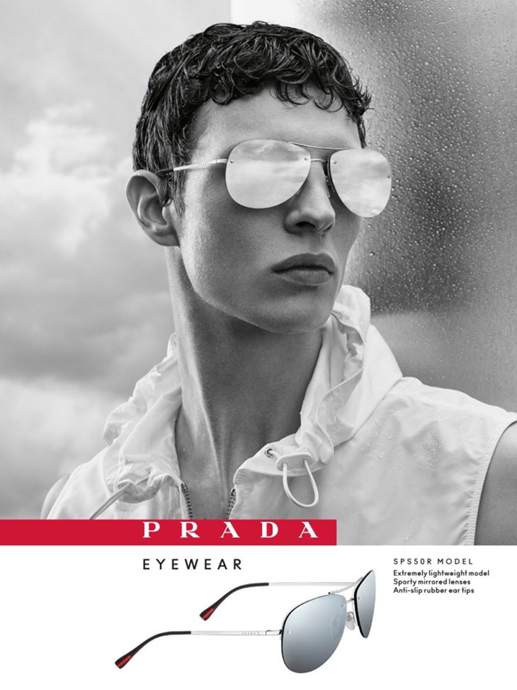 CAMPAIGN Tim Schuhmacher for Prada Eyewear 2016 by Craig McDean. www.imageamplified.com, Image Amplified (2)