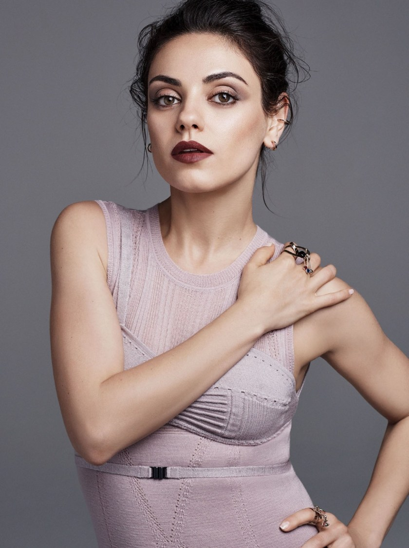 GLAMOUR MAGAZINE Mila Kunis by Steven Pan. Katie Mossman, August 2016, www.imageamplified.com, Image Amplified (2)