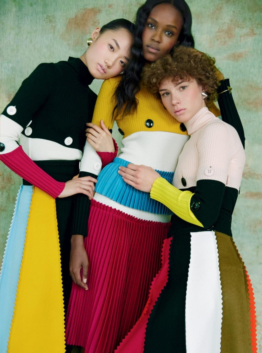 HARPER'S BAZAAR UK A Fresh Look At Fashion by Erik Madigan Heck. Leith Clark, August 2016, www.imageamplified.com, Image Amplified (9)