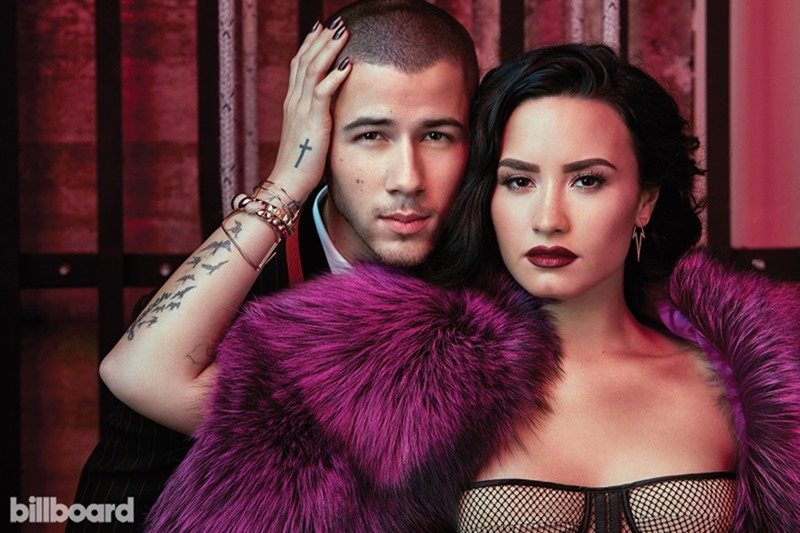 BILLBOARD MAGAZINE Demi Lovato & Nick Jonas by Austin Hargrave. Jeff K Kim, July 2016, www.imageamplified.com, Image Amplified3