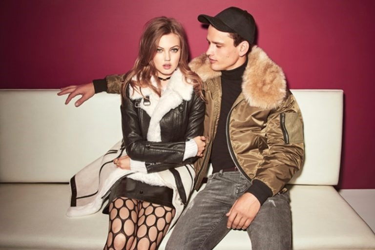 CAMPAIGN Lindsey Wixson & Simon Nessman for River Island Fall 2016 by Emma Summerton. Edward Enninful, www.imageamplified.com, Image Amplified (1)