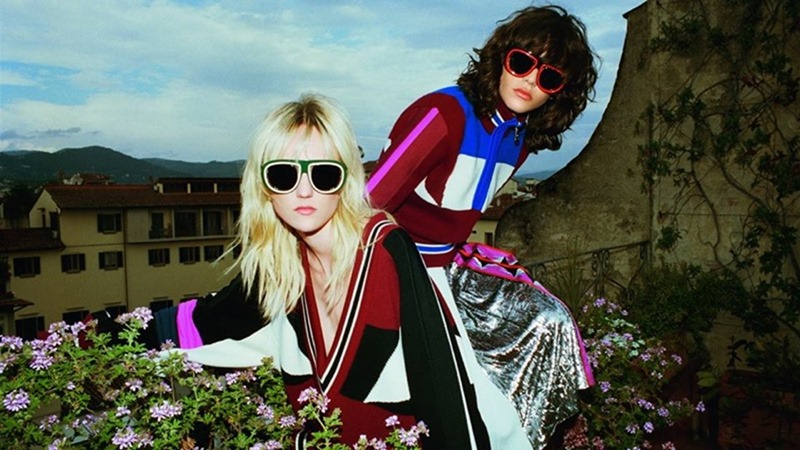 CAMPAIGN Steffy Argelich & Harleth Kuusik for Emilio Pucci Fall 2016 by Cameron McCool. Vittoria Cerciello, www.imageamplified.com, Image Amplified1