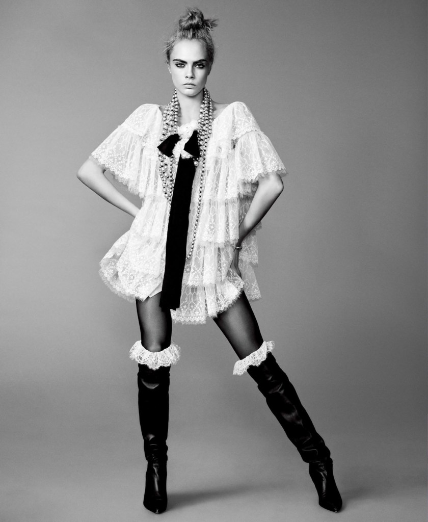 ELLE MAGAZINE Cara Delevingne by Terry Tsiolis. Samira Nasr, September 2016, www.imageamplified.com, Image Amplified5