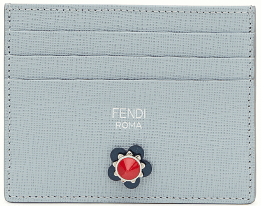 The slotted card holder: Fendi - £160
