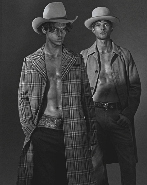 GQ AUSTRALIA Guerrino Santulliana & Miles Hurley by Derek Henderson. Brad Homes, August 2016, www.imageamplified.com, Image Amplified4