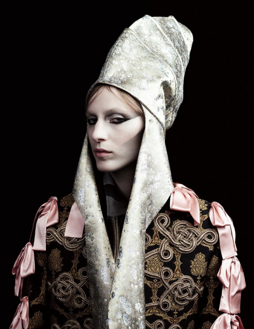 LOVE MAGAZINE Julia Nobis by Willy Vanderperre. Olivier Rizzo, Fall 2016, www.imageamplified.com, Image Amplified3