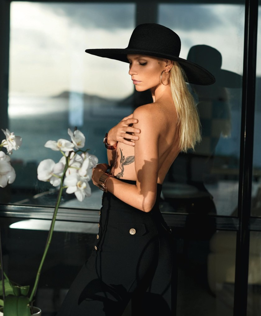 MAXIM MAGAZINE Aline Weber by Gilles Benison. Caroline Christiansson, August 2016, www.imageamplified.com, Image Amplified5