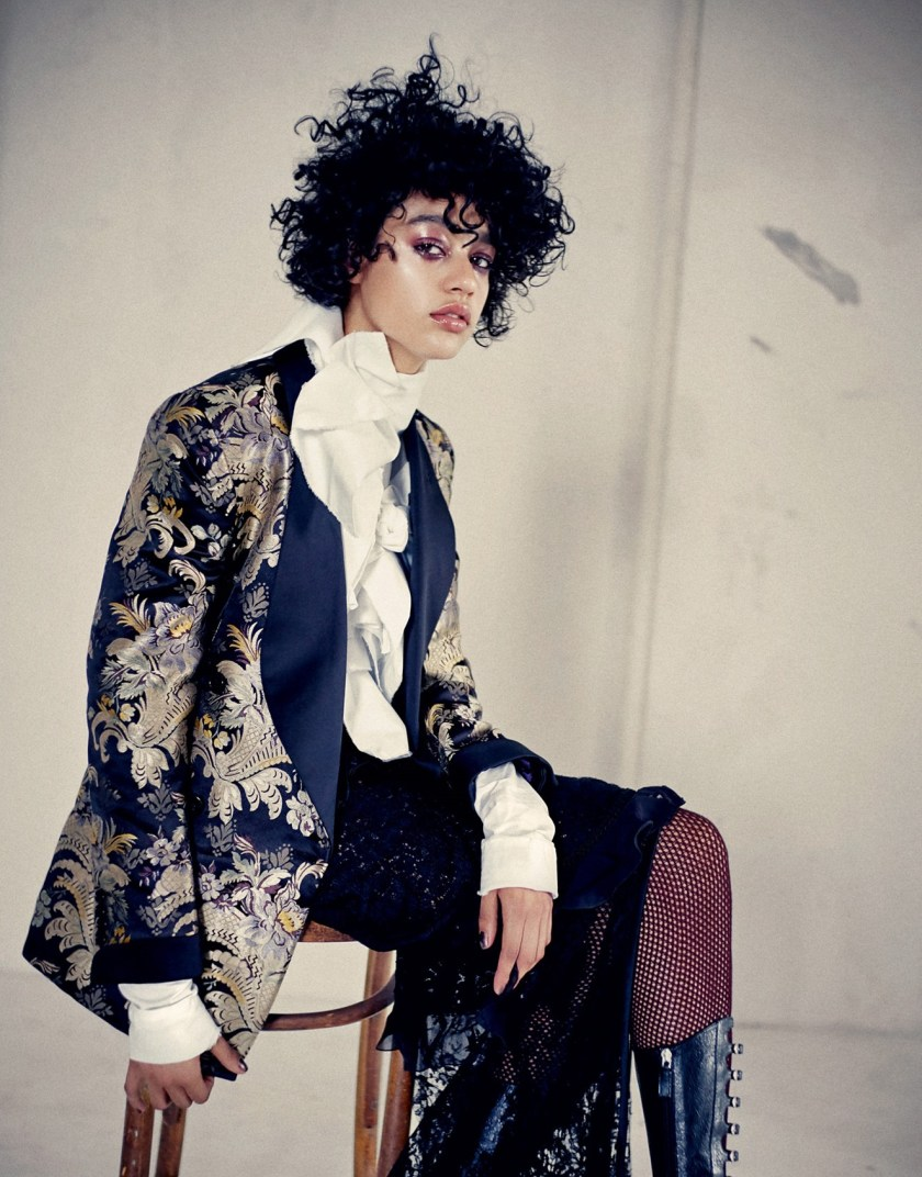 PORTER MAGAZINE Damaris Goddrie by Drew Jarrett. Julia von Boehm, Fall 2016, www.imageamplified.com, Image Amplified9