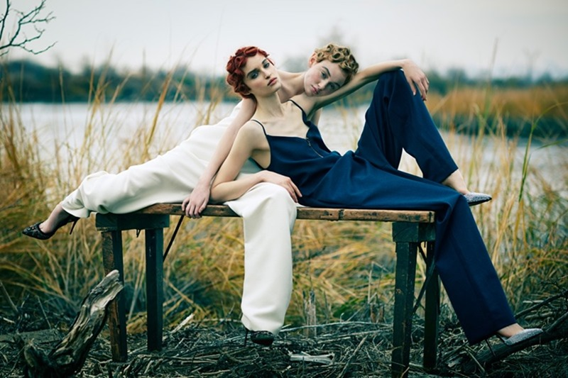 VOGUE BRAZIL Rhiannon McConnell & Cece Post by Hao Zeng. Anna Katsanis, Fall 2016, www.imageamplified.com, image Amplified11