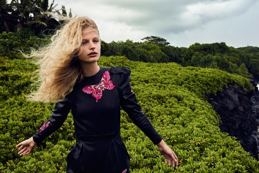 VOGUE CHINA Frederikke Sofie by Ryan McGinley. Daniela Paudice, September 2016, www.imageamplified.com, Image Amplified2
