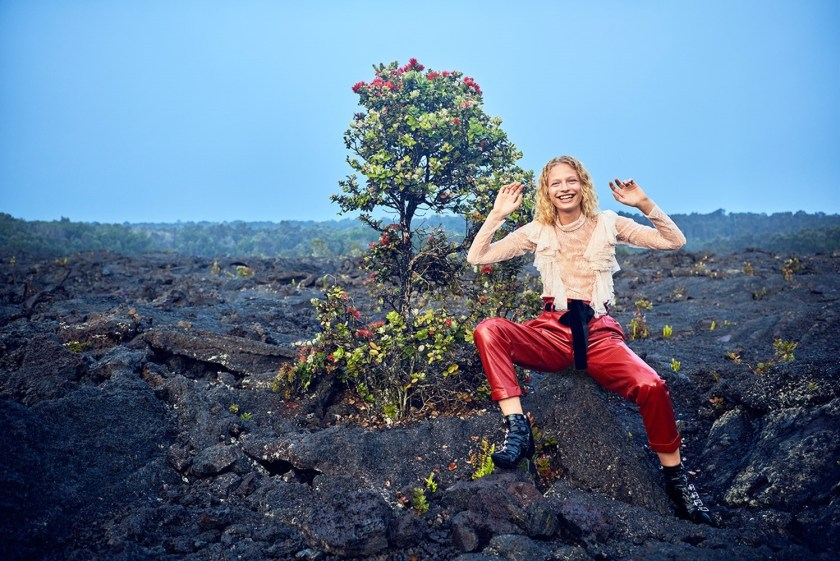 VOGUE CHINA Frederikke Sofie by Ryan McGinley. Daniela Paudice, September 2016, www.imageamplified.com, Image Amplified3
