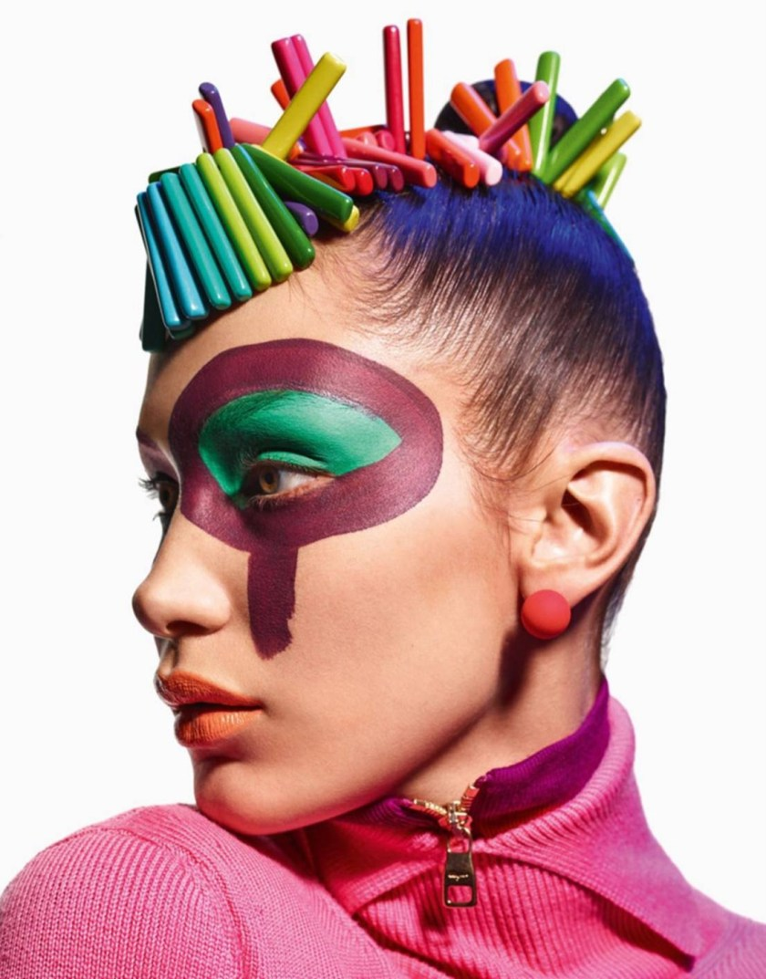 VOGUE PARIS Face Art by Mario Sorrenti. Geraldine Saglio, August 2016, www.imageamplified.com, Image Amplified4