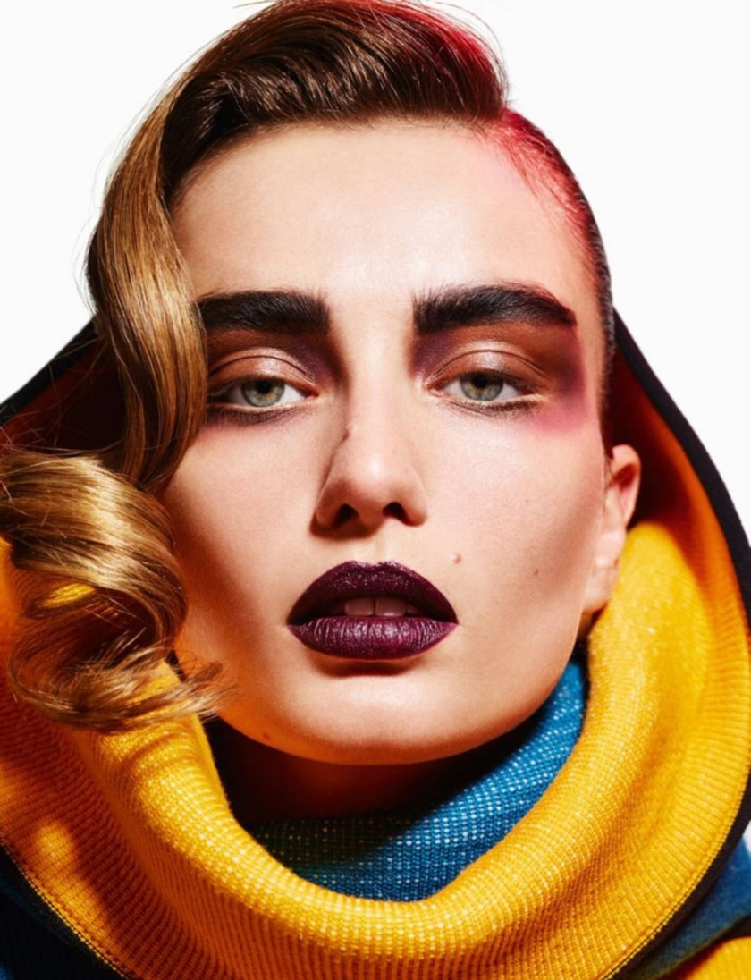 VOGUE PARIS Face Art by Mario Sorrenti. Geraldine Saglio, August 2016, www.imageamplified.com, Image Amplified5