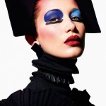 VOGUE PARIS: Face Art by Mario Sorrenti