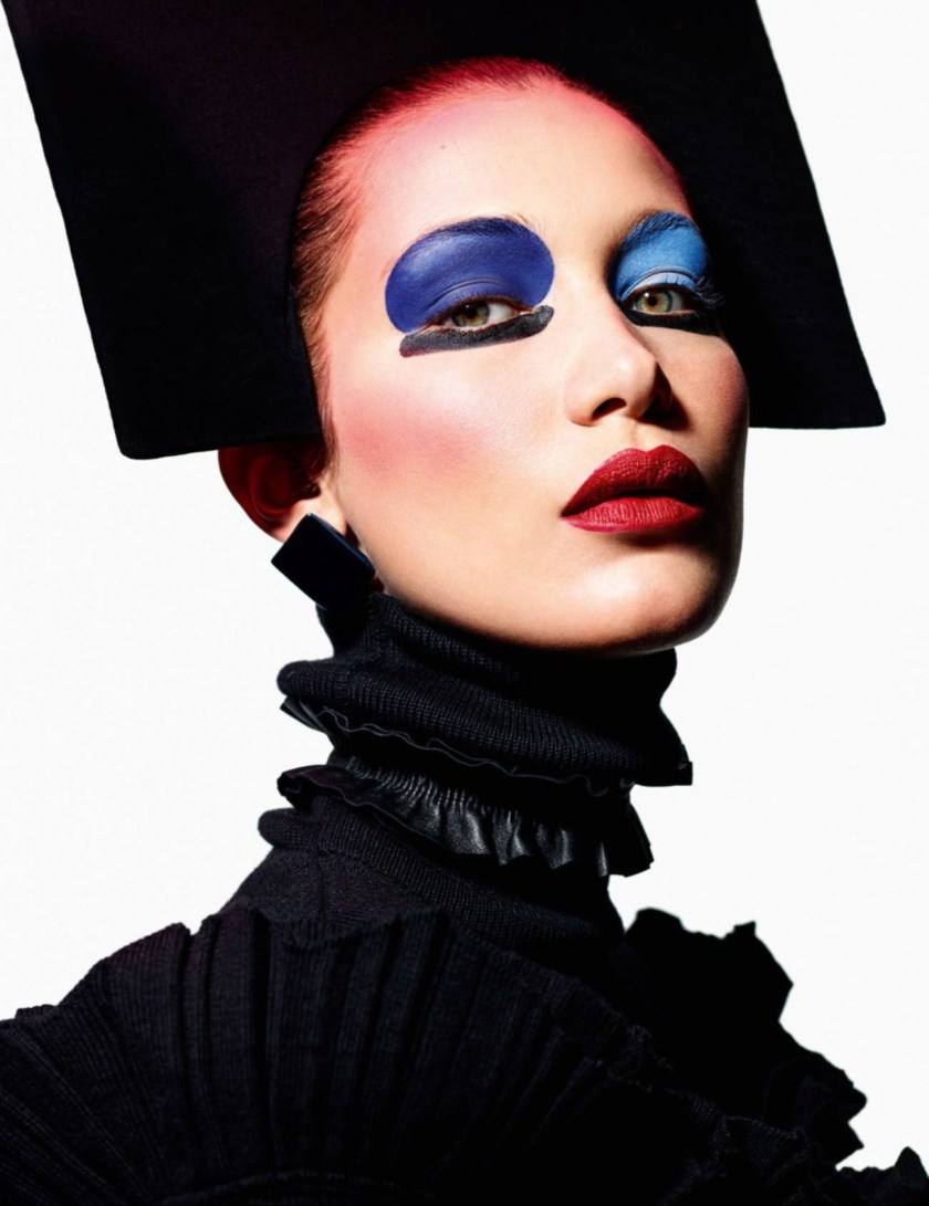 VOGUE PARIS Face Art by Mario Sorrenti. Geraldine Saglio, August 2016, www.imageamplified.com, Image Amplified3