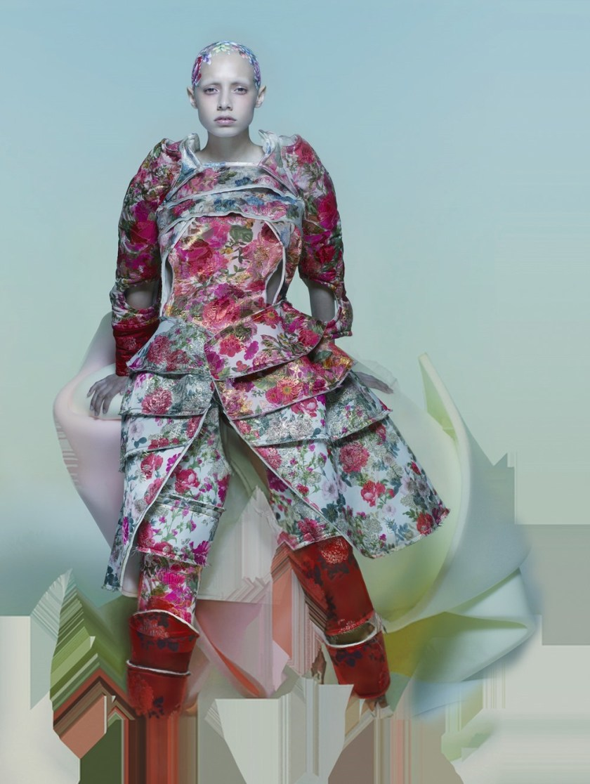 ANOTHER MAGAZINE Jazelle Zanaughtti by Nick Knight. Katie Shillingford, Fall 2016, www.imageamplified.com, Image Amplified (8)
