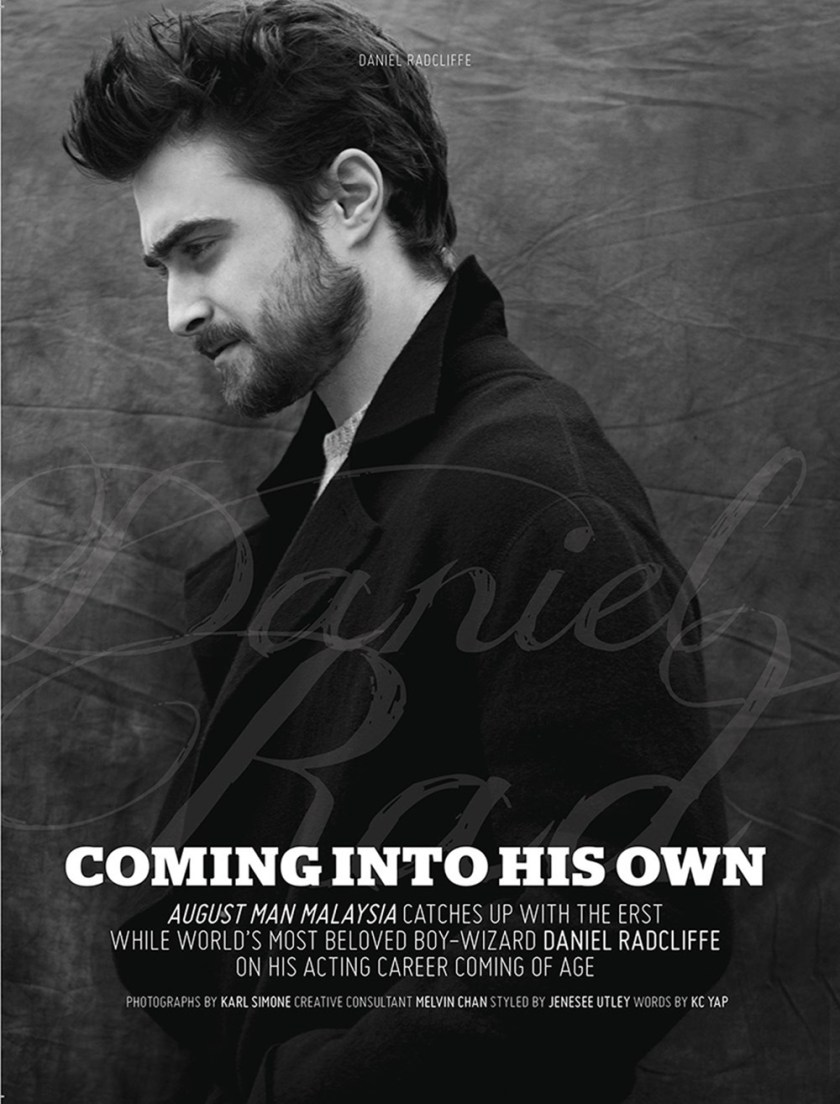 AUGUST MAN MALAYSIA Daniel Radcliffe by Karl Simone. Jenesee Utley, Fall 2016, www.imageamplified.com, image Amplified (1)