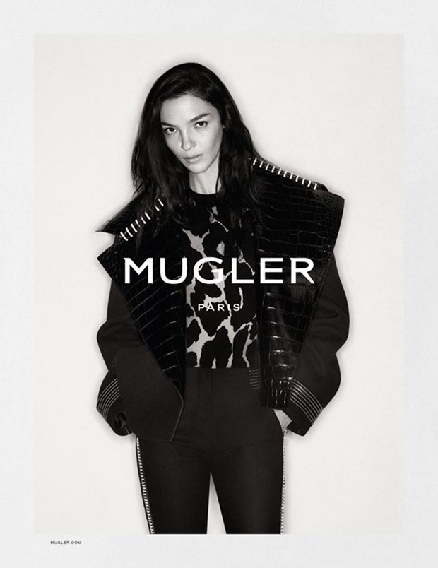 CAMPAIGN Mariacarla Boscono for Mugler Fall 2016 by Christian MacDonald. www.imageamplified.com, Image Amplified (2)