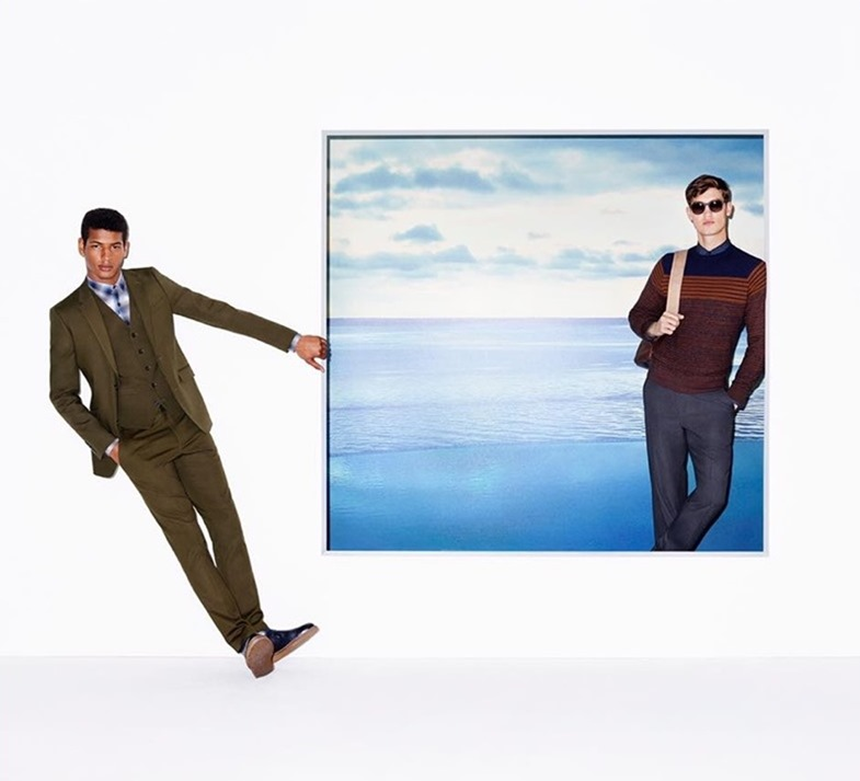 CAMPAIGN Tidiou M'Baye & Jason Anthony for Perry Ellis Fall 2016 by Frederike Helwig. www.imageamplified.com, Image Amplified (1)