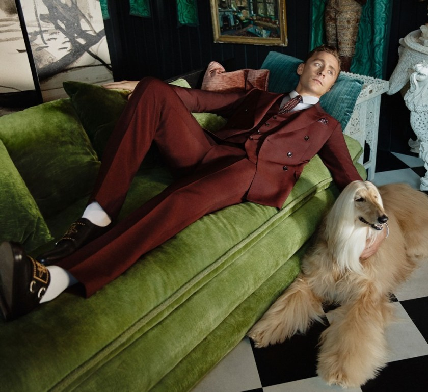 CAMPAIGN Tom Hiddleston for Gucci Cruise 2017 Men Tailoring by Glen Luchford. www.imageamplified.com, Image Amplified (1)