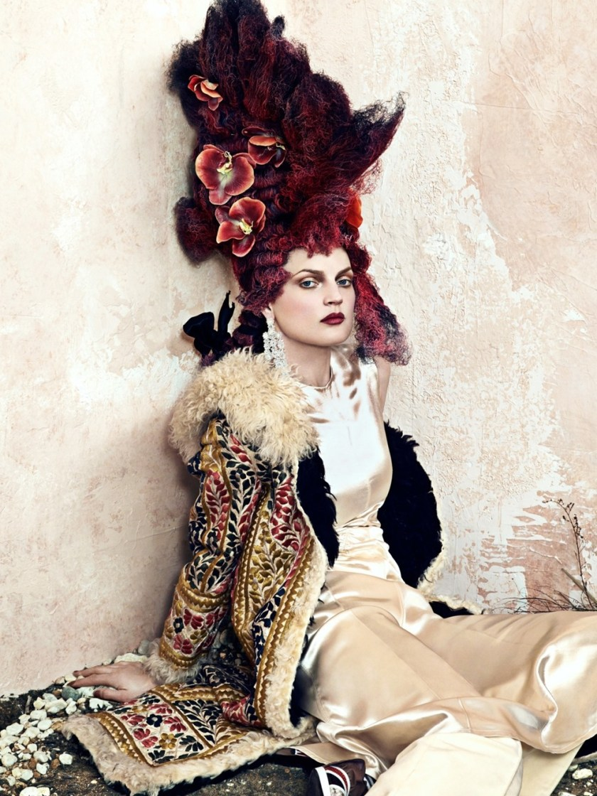 CR FASHION BOOK Guinevere van Seenus by Bjorn Iooss. Carine Roitfeld, Fall 2016, www.imageamplified.com, Image Amplified (2)