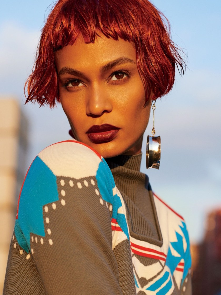 GLAMOUR MAGAZINE Joan Smalls by Carter Smith. Jillian Davison, October 2016, www.imageamplified.com, Image Amplified (2)