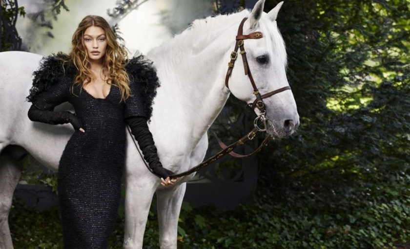HARPER'S BAZAAR MAGAZINE Gigi hadid by Karl Lagerfeld. October 2016, www.imageamplified.com, Image Amplified (9)