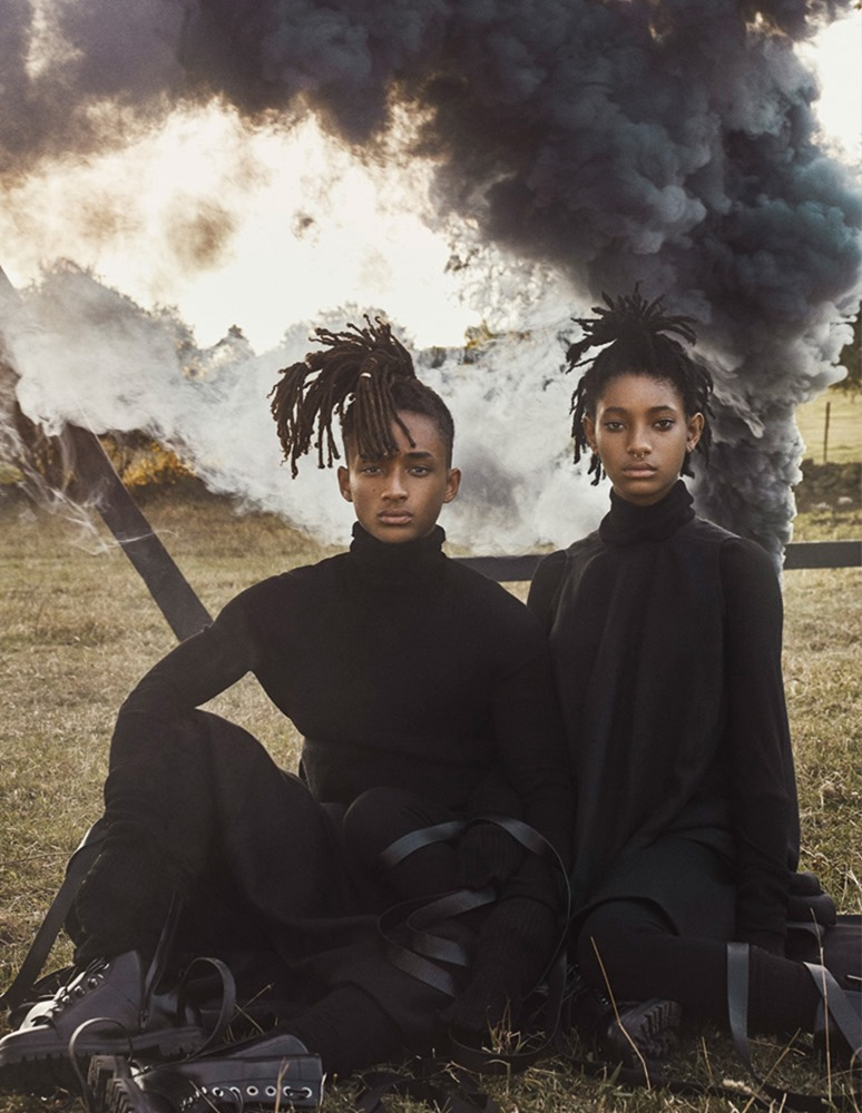 INTERVIEW MAGAZINE Jaden Smith & Willow Smith by Steven Klein. Karl Templer, September 2016, www.imageamplified.com, Image Amplified (6)