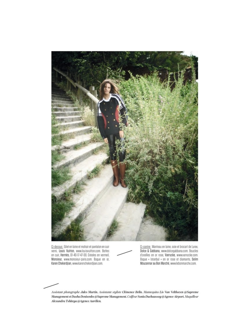 L'OBS MAGAZINE Dasha Denisenko by Stephane Gallois. Yasmin Kayser, Fall 2016, www.imageamplified.com, Image amplified (8)