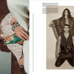 MAN ABOUT TOWN: Michell Slaggert & Sacha Blue by Brianna Capozzi