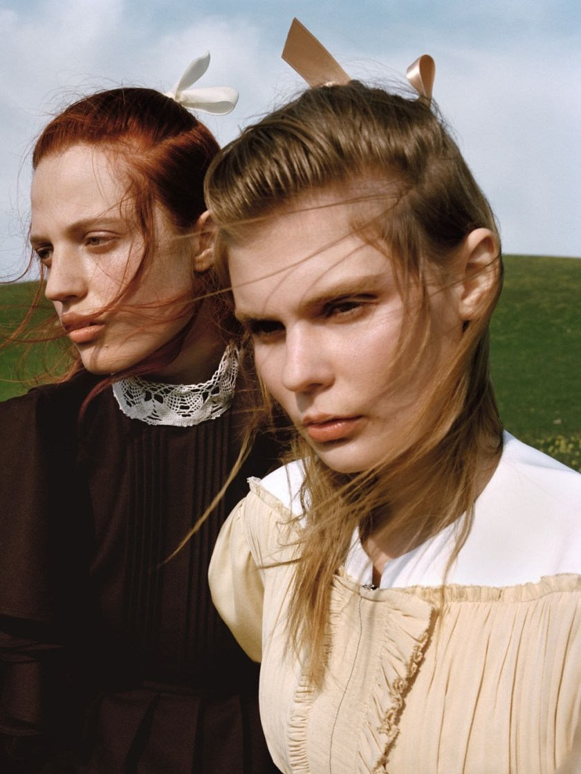 VOGUE CHINA Julia Banas & Alexandra Elizabeth by Yelena Yemchuk. Katie Shillingford, October 2016, www.imageamplified.com, Image Amplified (9)
