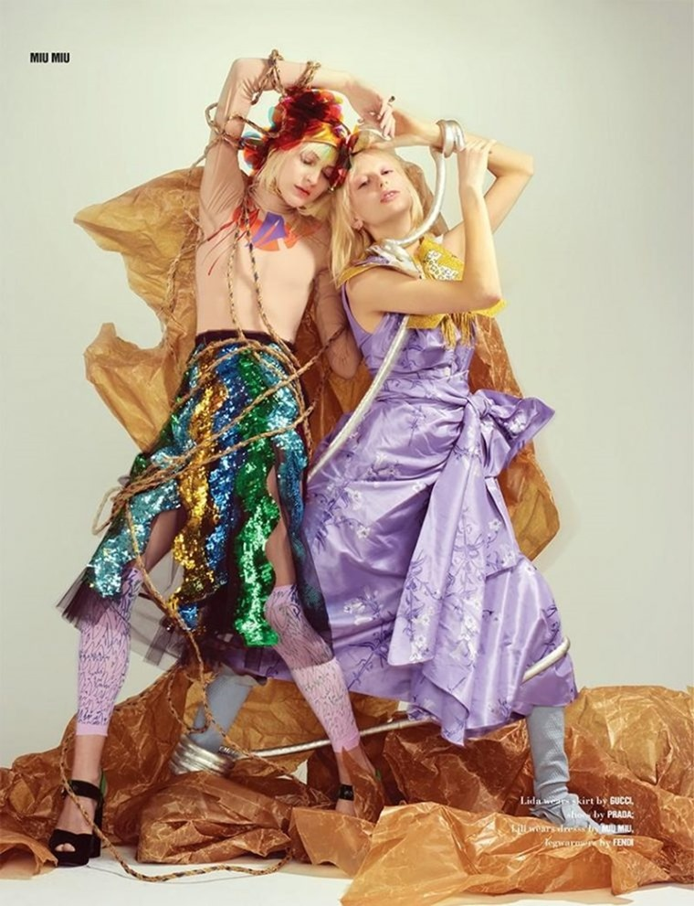 10 MAGAZINE Hannelore Knuts, Lida Fox & Lili Sumner by Horst Diekgerdes. Hannelore Knuts, Fall 2016, www.imageamplified.com, Image Amplified (7)