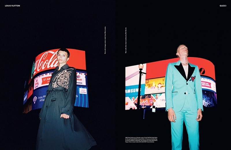 ANOTHER MAN MAGAZINE James Marlon & Tim by Sam Rock. Ellie Grace Cumming, Fall 2016, www.imageamplified.com, Image Amplified5
